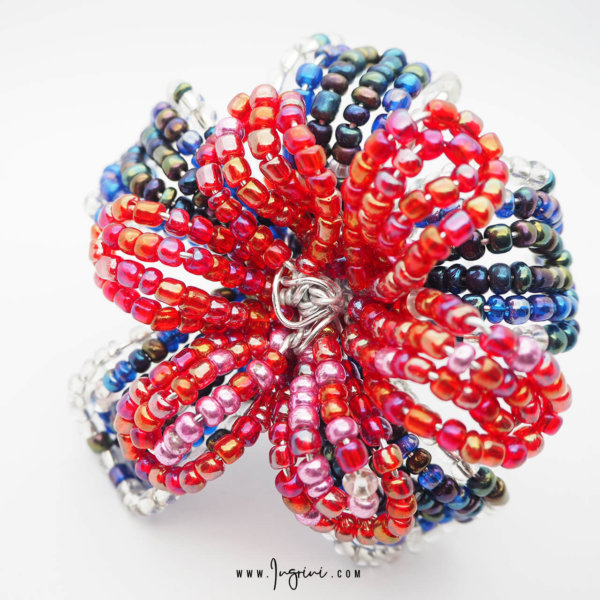 BLOG Wire Bead Flower 02